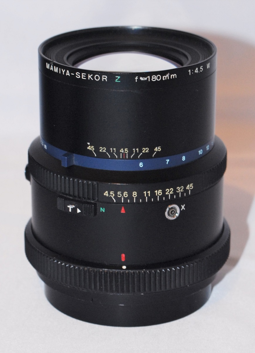 Mamiya Sekor 180mm f4.5. Excellent condition. For Mamiya RZ67