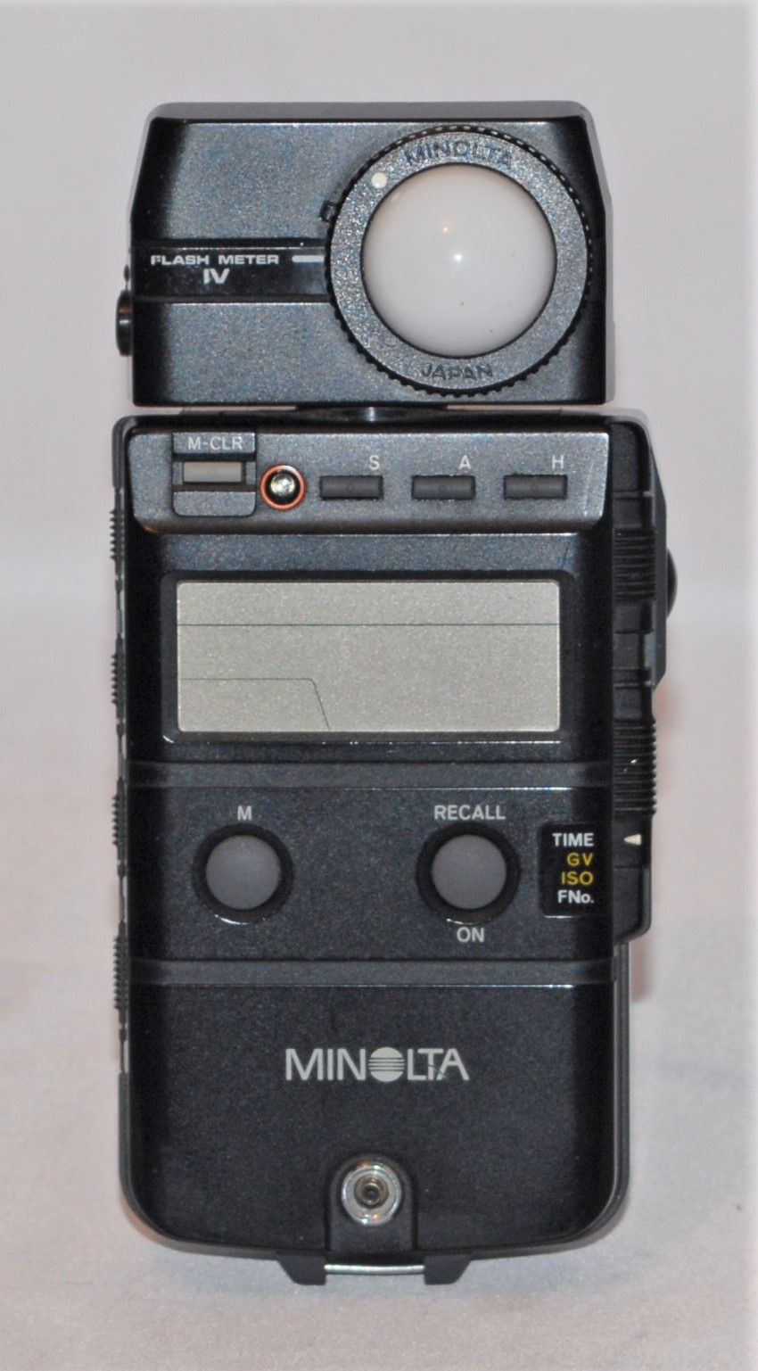 Minolta Flash Meter IV with case. Excellent condition.
