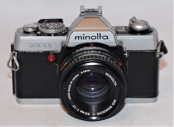 Minolta XG 1 50mm f1.7 (excellent condition)
