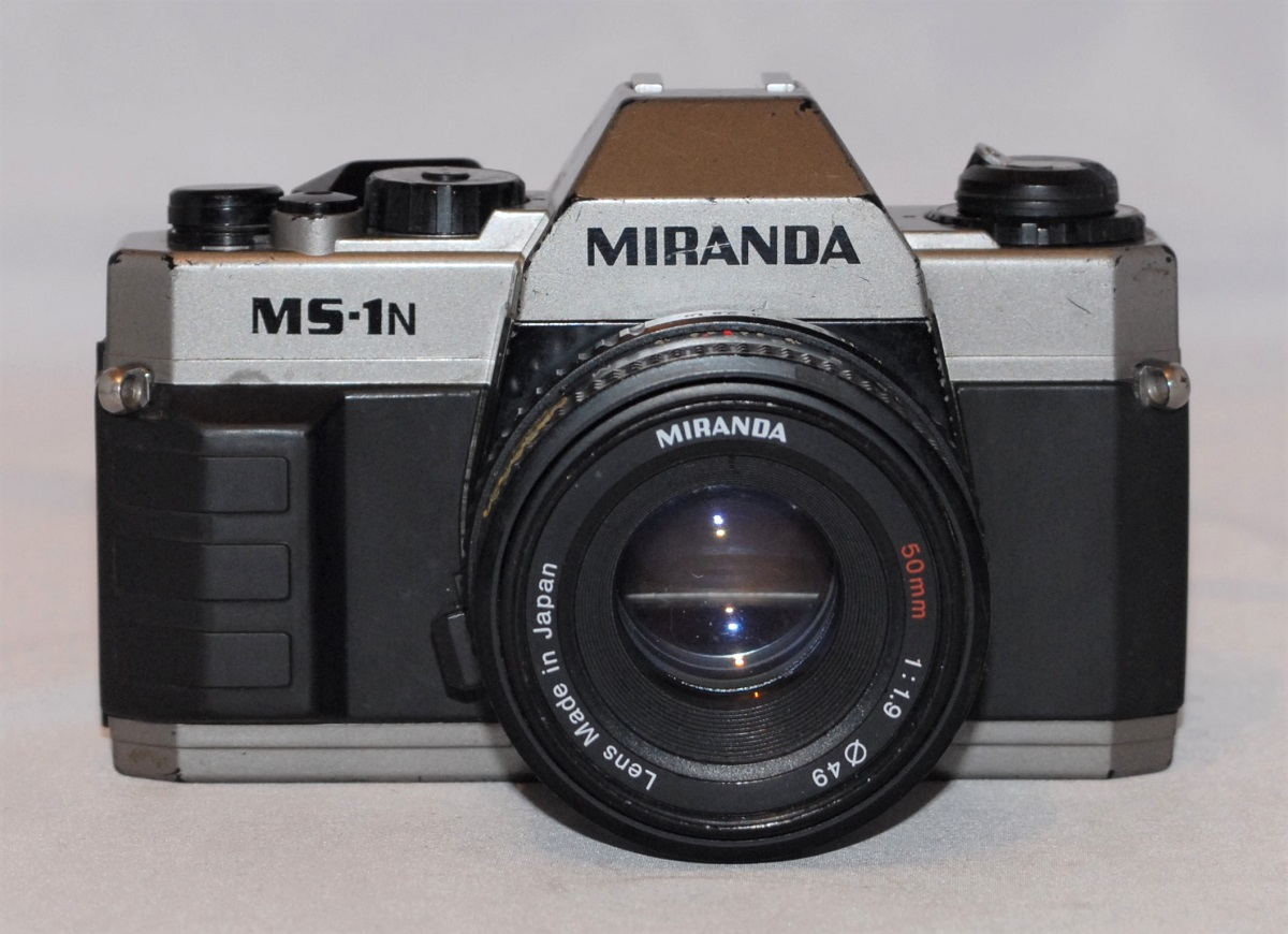 Miranda MS-1N + Miranda 50mm f1.9