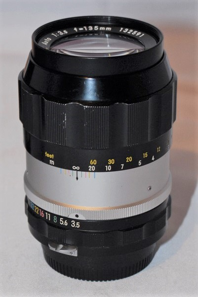 Nikkor-Q .C 135mm f3.5 (F mount)