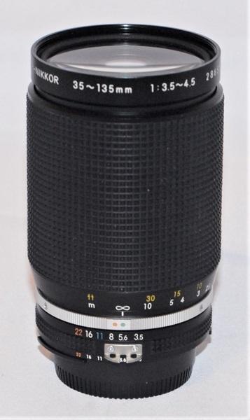 Nikkor 35-135mm f3.5-f4.5. Excellent condition. AIS