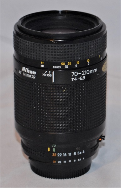 Nikon Nikkor 70-210mm f4-f5.6 AF (Excellent condition. Boxed)