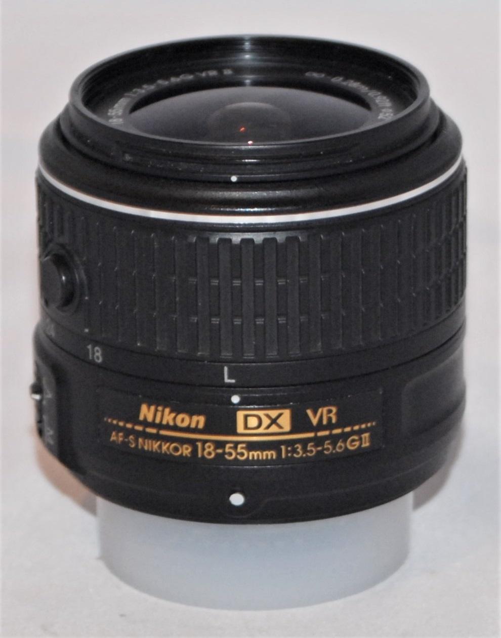 Nikkor 18-55mm f3.5-5.6 G AF-S DX VR II