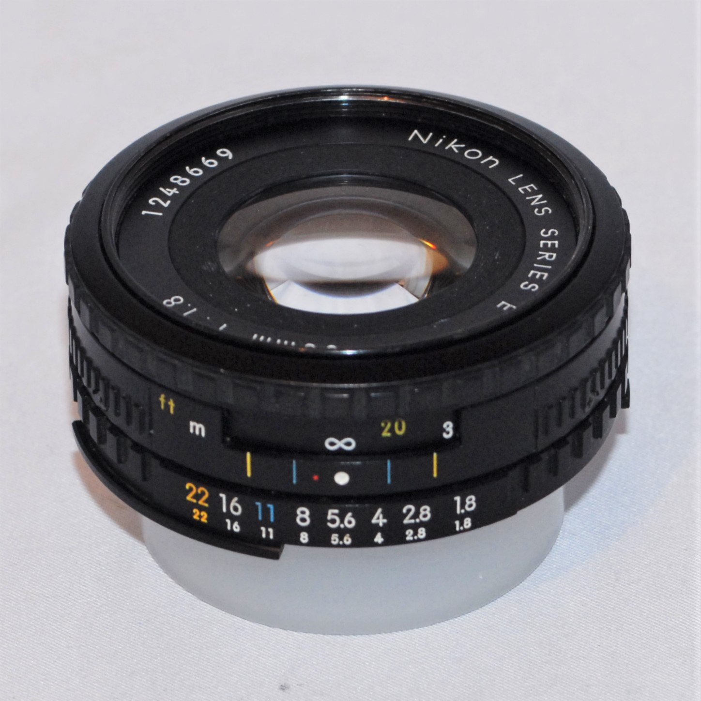 Nikon 50mm f1.8 Series E. AIS mount. Excellent condition.