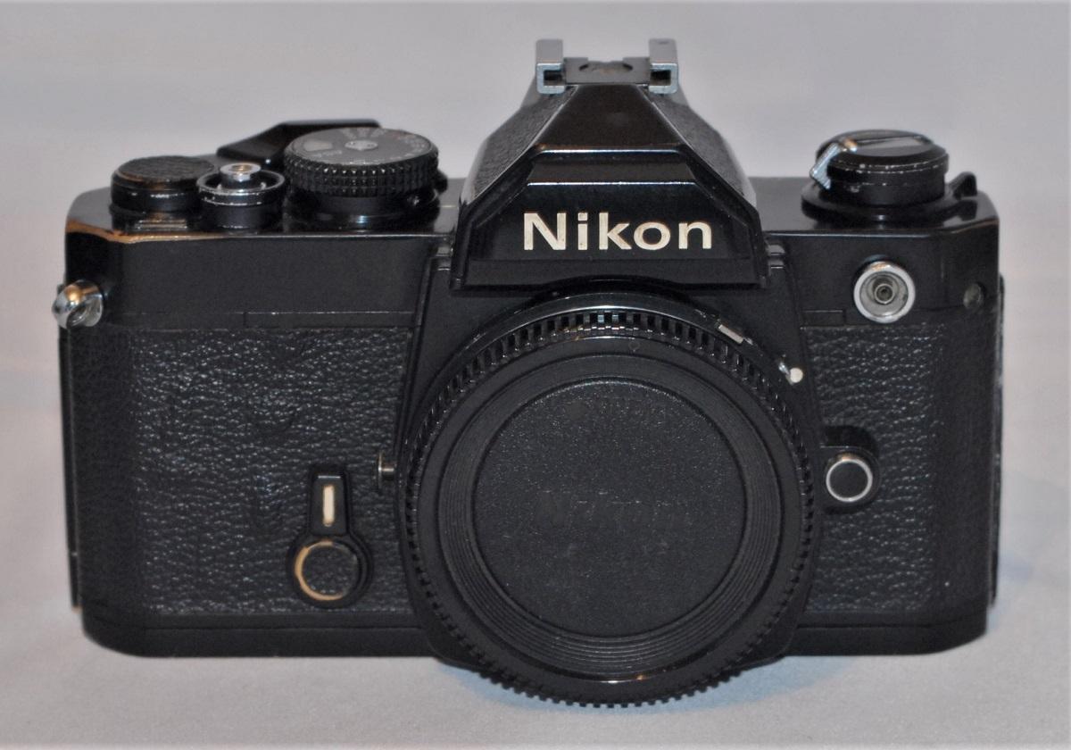 Nikon FM (black). Light meter not working,