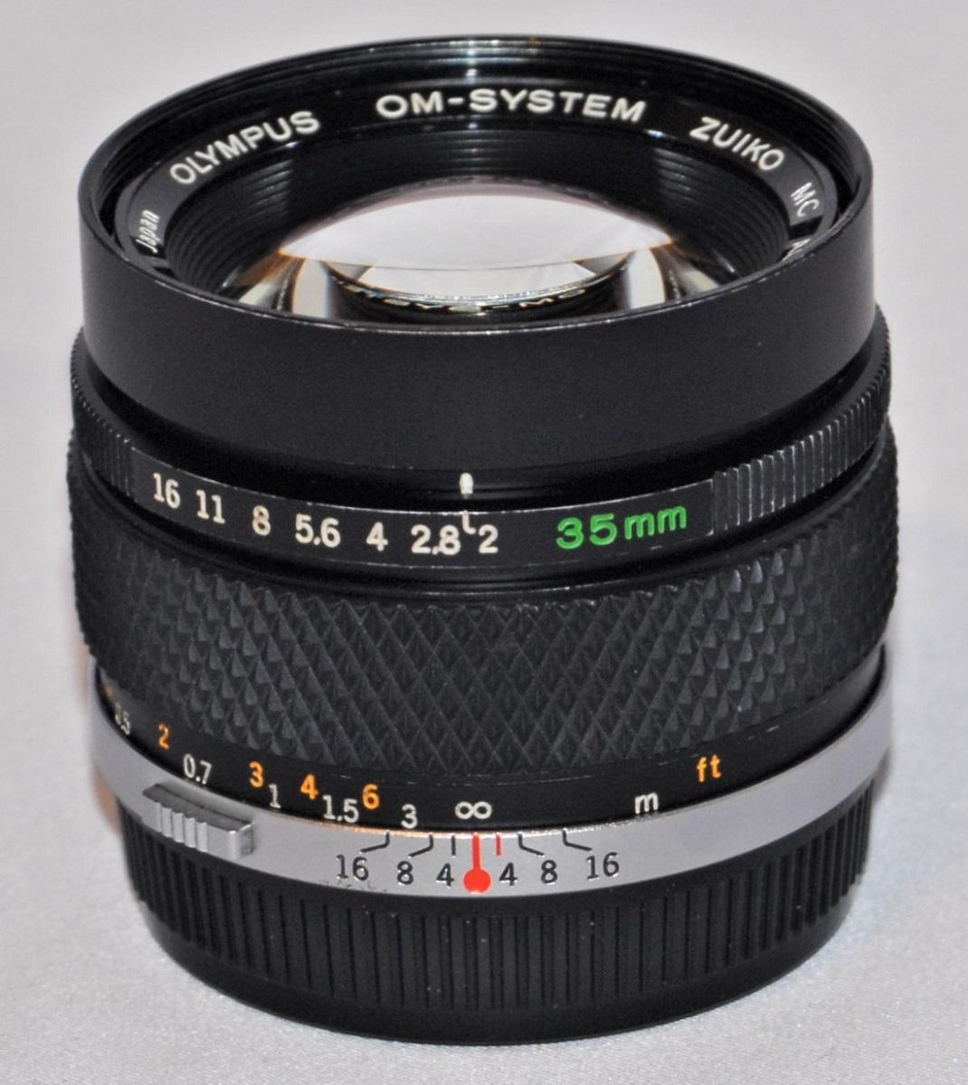 Olympus Zuiko 35mm f2. Excellent condition.