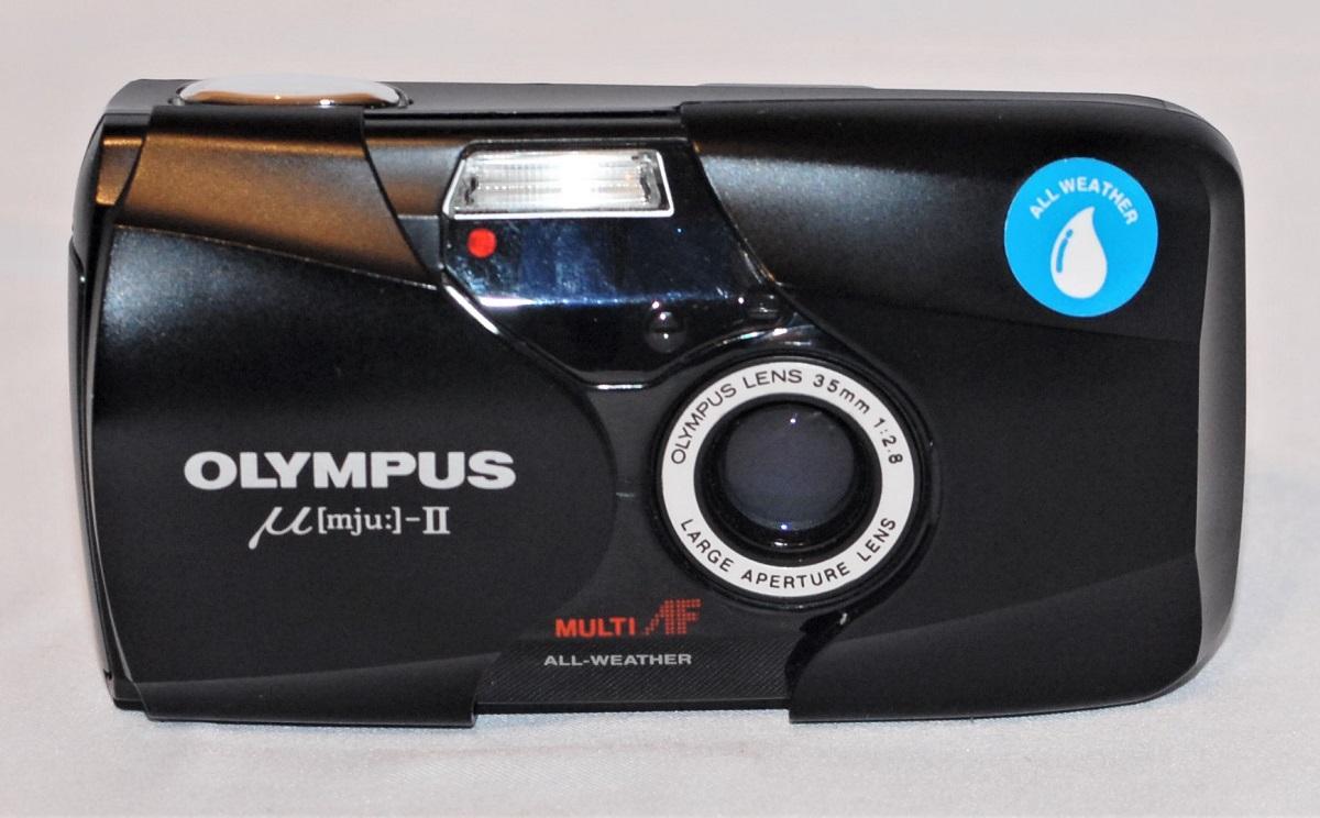 Olympus Mju II. Near mint condition. SOLD