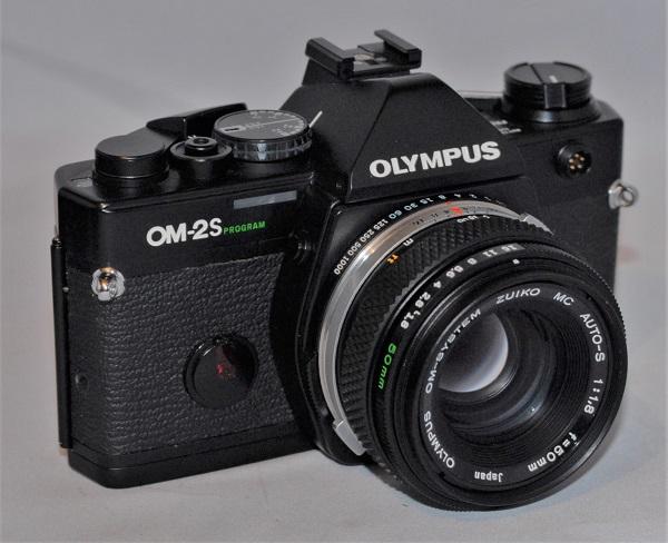 Olympus OM-2S Program + 50mm f1.8 lens.
