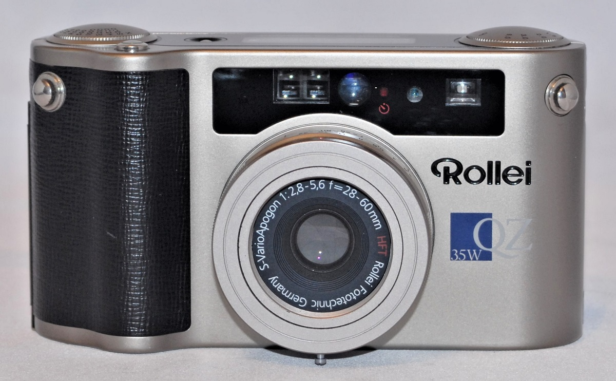 Rollei 35W QZ . Near mint condition.