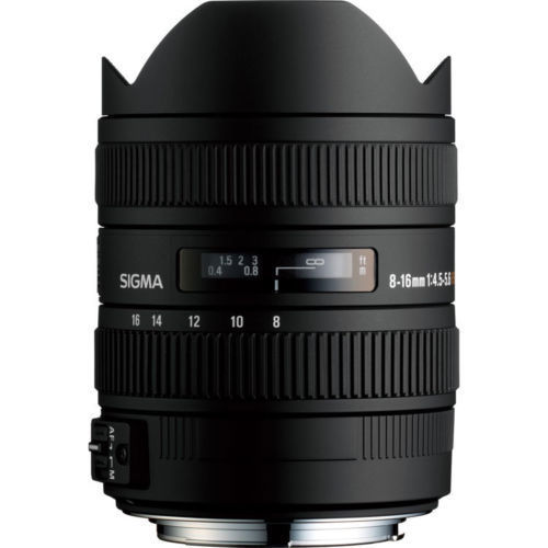 Sigma 8-16mm F4.5-5.6 DC HSM (NEW)