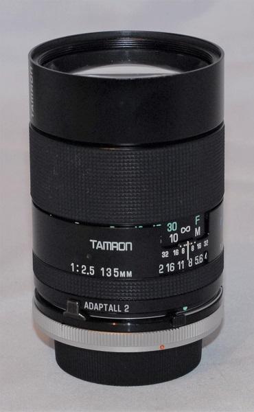 Tamron 135mm f2.5 AD2