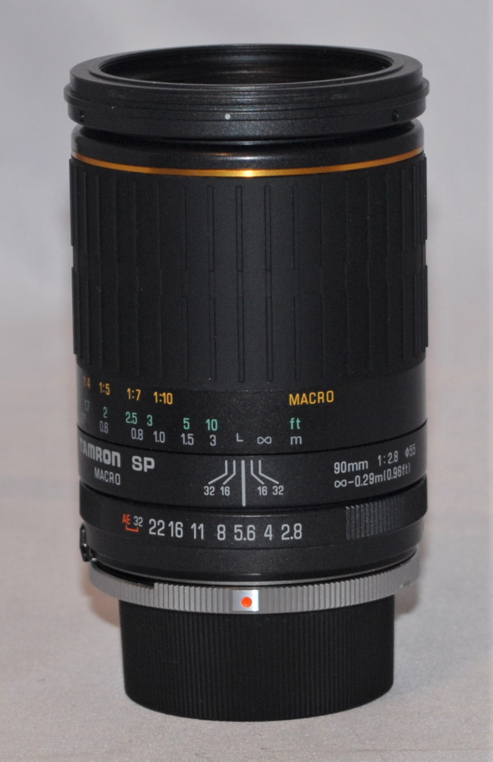 Tamron 90mm SP f2.8. Excellent condition.