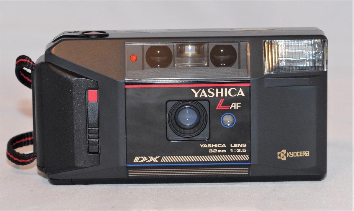 Yashica L AF + 32mm f3.5. Includes case. Excellent condition. SOLD