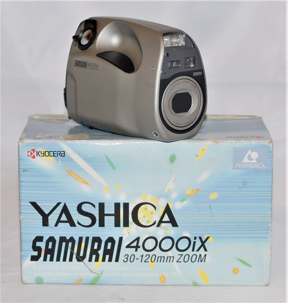 Yashica Samurai (Boxed. Mint condition) SOLD