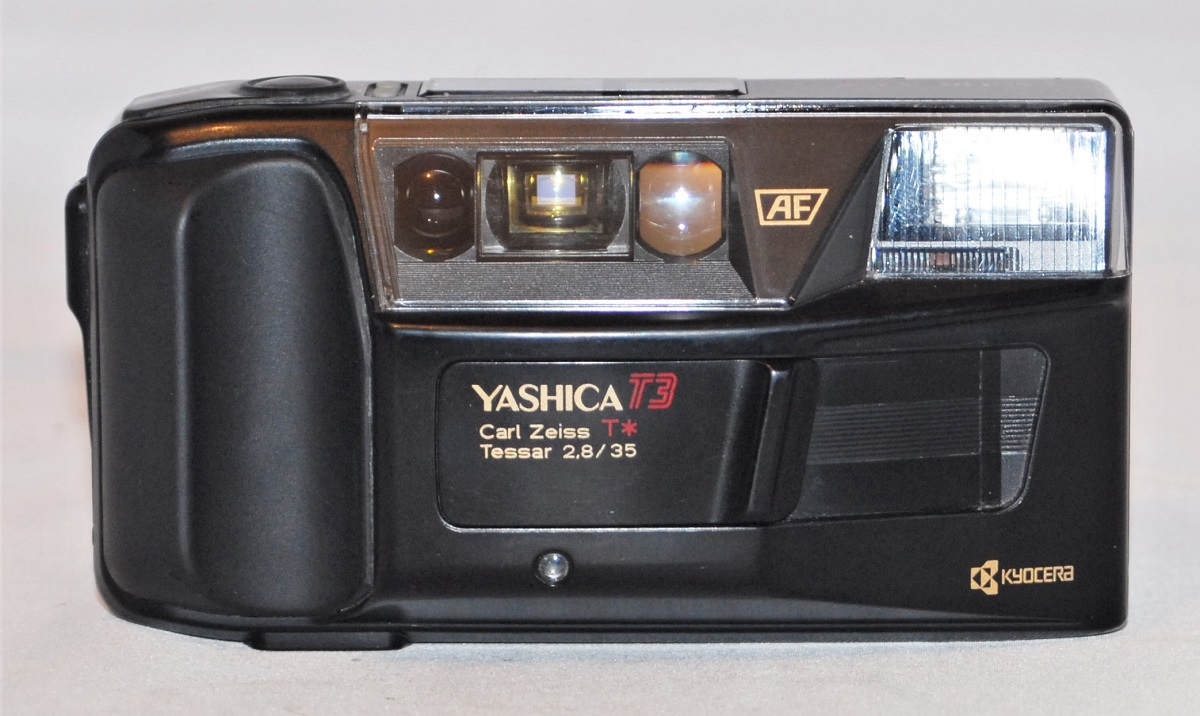 Yashica T3. Includes case. Excellent condition. SOLD