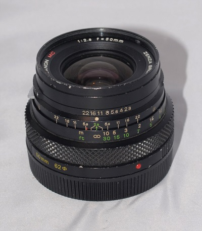 Zenzanon 50mm f2.8 MC (for Beronica 6x4.5)